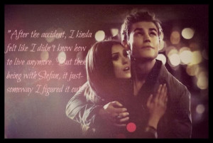 Stefan and Elena - The Vampire Diaries Picture