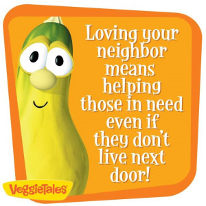 love your neighbor (the good Samaritan)
