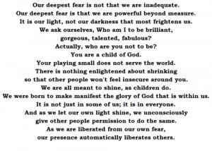 Our deepest fear #Deepest fear #Coach #Insperational #Heart felt # ...