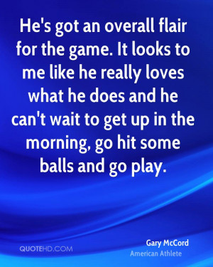 Gary McCord Sports Quotes