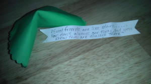 Friendship quote fortune cookies