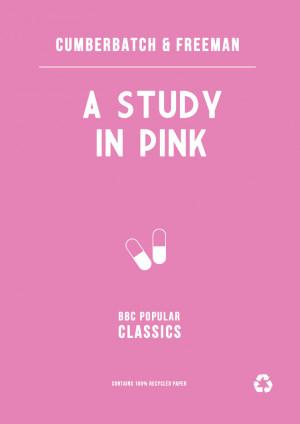 Study in Pink: BBC Sherlock by sinandher