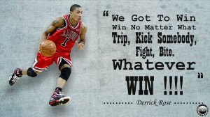 Derrick Rose Inspirational Quotes