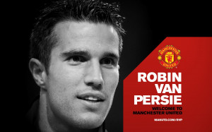 Van Persie Manchester United HD Wallpaper #2628