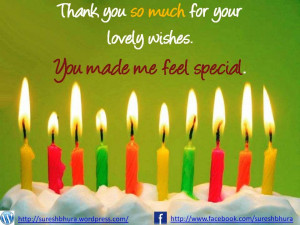 Thank You Quotes Images For Birthday Wishes ~ thank you for birthday ...