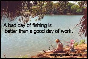 Funny Fishing Quotes http://www.sayingsplus.com/fishing-sayings.html