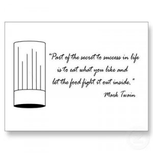 foodquote by Mark Twain   Sourced by Butcherman: Your butcher for ...