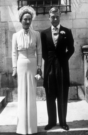 Duke and Duchess of Windsor on their wedding day