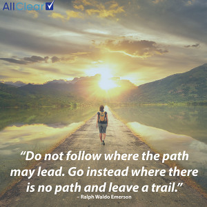 Travel Quote of the Week: Do not follow where the path may lead…