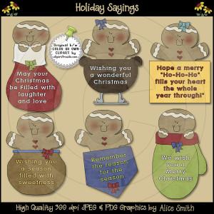 Holiday Sayings Download