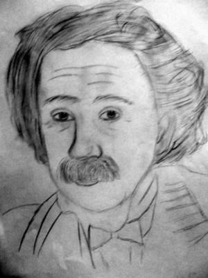 Albert Einstein Quote Pink...