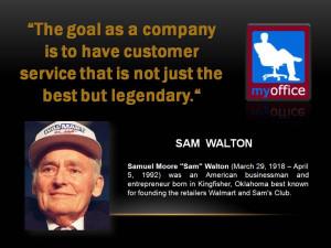 sam walton quotes capital isn t scarce vision is sam walton
