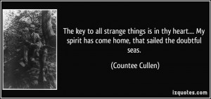 More Countee Cullen Quotes
