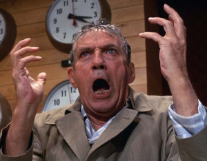 ... gonna to take this anymore! Howard Beale/Peter Finch in Network (1976