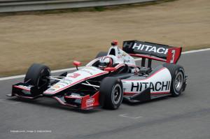 Helio Castroneves Penske IndyCar Barber Motorsport Park 2014