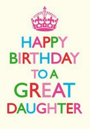 birthday #daughterCalm, Happy Birthday, Daughters 13Th Birthday Quotes ...
