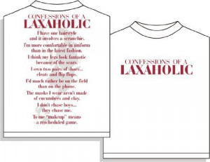 Laxaholic Lacrosse Short Sleeve T-Shirt