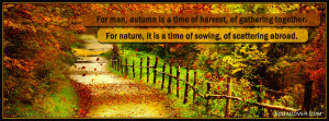 Fall - Autumn Facebook Covers