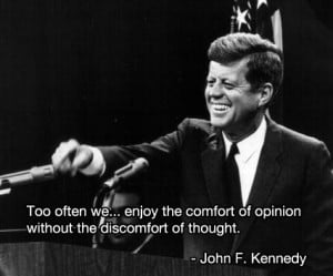 Matt's Quote of the Day – John F. Kennedy