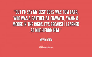 Boss Quotes Preview quote