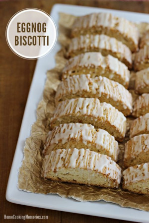 baking recipe made with eggnog & delicious with a cup of coffee ...