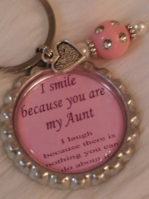 Aunt keychain, Funny quote, Aunt gift, Funny gift