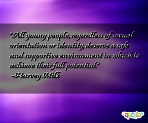 All young people, regardless of sexual orientation or identity ...
