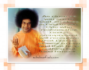 Sri Sathya Sai Baba Quotes For