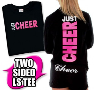 Once you have the basic cheerleading T-shirt concept down you can also ...