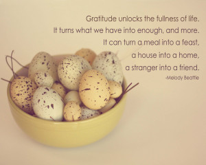 Reasons for Cultivating an Attitude of Gratitude