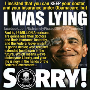 Despite promises, Obama admits: 'Many folks' will lose doctors ...