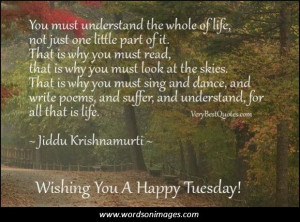 Tuesday quote of the day