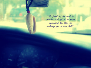 Photography Sea Shell/ Quote