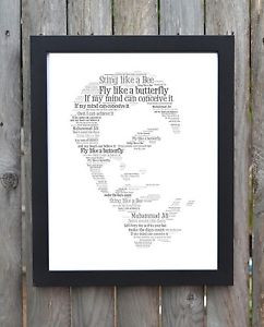 Muhammad-Ali-Cassius-Clay-Word-Art-Typography-Quotes-Print-Picture ...