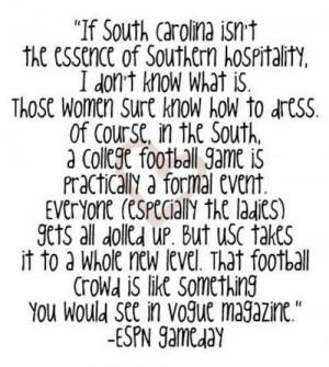 Southern Carolina Hospitality