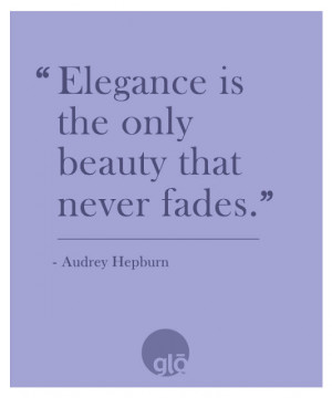 Skin Care Quotes Quotes we love: audrey hepburn