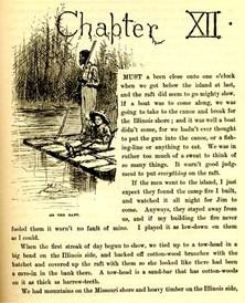 The Adventures of Huckleberry Finn by Mark Twain ...