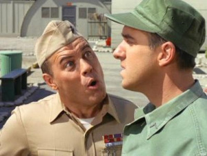 Gomer Pyle: USMC - Sgt Carter and Private Pyle