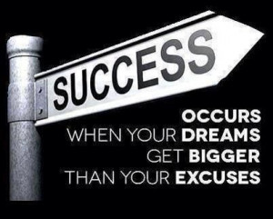 Dream big and take responsibility! Love this!