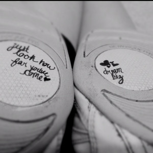 Quotes on cheer shoes. Cheerleading flyer inspiring bases...idea write ...