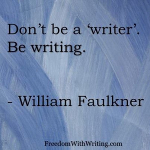 William Faulkner wrote