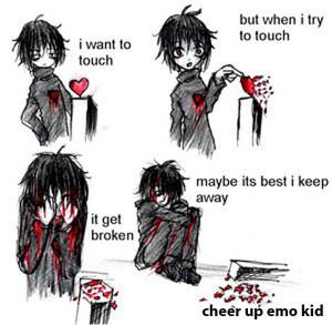 Imagenes : emo tristes