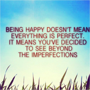 Quote Imperfection