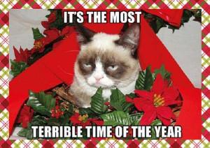 Grumpy Cat Quote Christmas