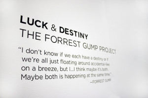 Forrest Gump Quotes Destiny The forrest gump project:
