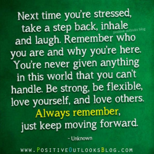 Step Back : Quotes | *Quotes