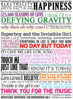 Everything I need to know in life I learned from musical theatre. Is ...