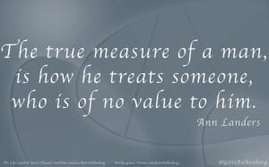 Ann Landers Quote Memorable