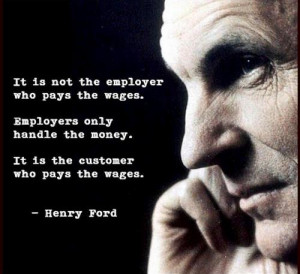 It is not the employer who pays the wages. Employers only handle the ...