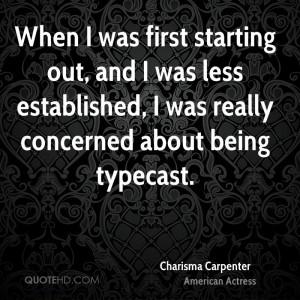 Charisma Carpenter Quotes